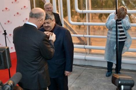 и руководитель Тепличного - Михаил Ильин Фаерман, ранее энергетик и металлург