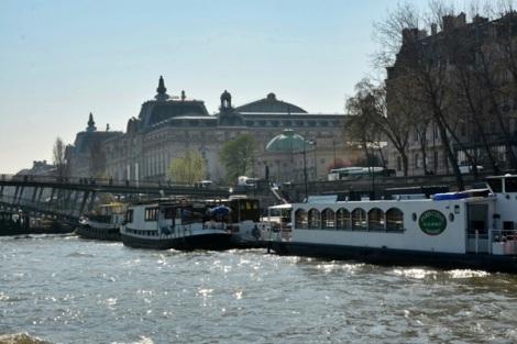 реки Франции - это суда - трудяги, пафоса там нет