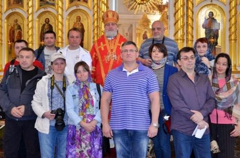 в мае 2013 года в Саранске многие блогеры удивились, что в церковь Бегун отказался заходить