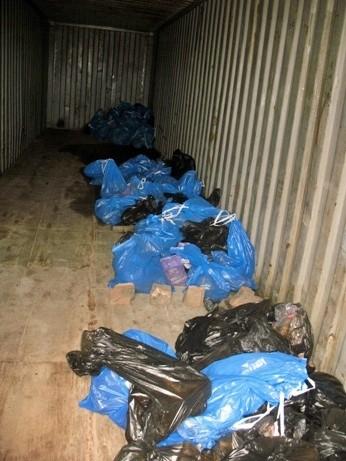 все найденные здесь останки систематизированы и затем перезахоронены