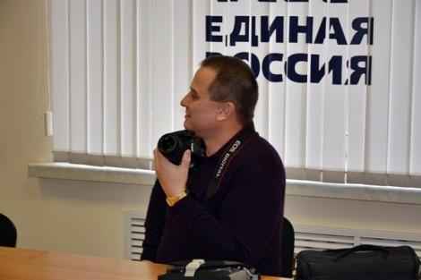 Евгений Синюков изучает ситуацию в РПС ЕР