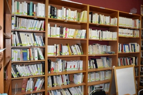библиотека Альянса Франсез в Самаре имеет и бумажные носители