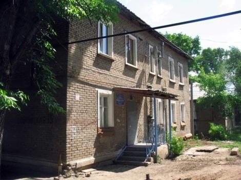 а это аварийное дошкольное отделение школы 151 в Советском районе Самары
