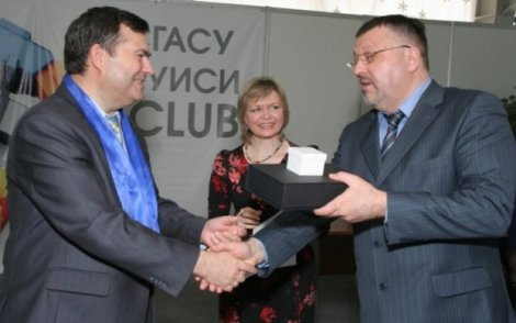 с ректором СГАСУ Бальзанниковым