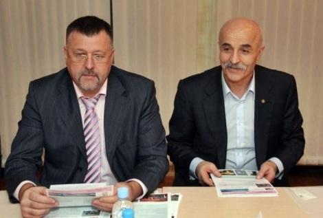 с главой компании Амонд Хугаевым