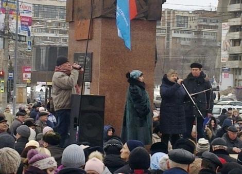 женщины благодарили Путина