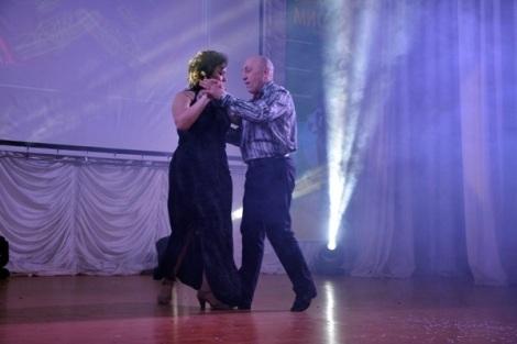 Лариса Чугунова - они с партнером нашли друг друга для танго