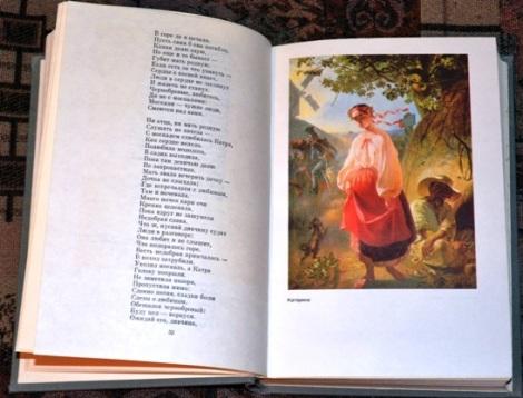 книга Шевченко с его иллюстрациями