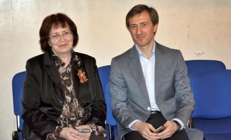 директора школ и депутаты всегда находят общий язык, Надежда Стаценко и Александр Живайкин