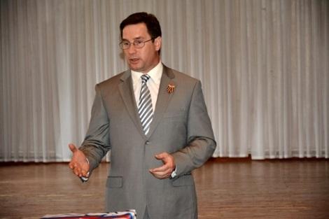 Сергей Блохин - откомандирован дорогой для связи с регионом и избирателями