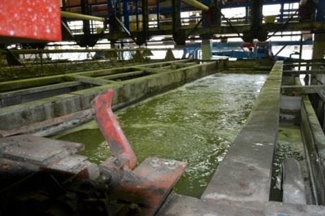это неочищенная вода на производстве