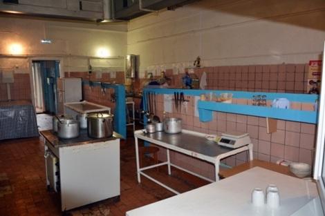 здесь готовят школьникам еду