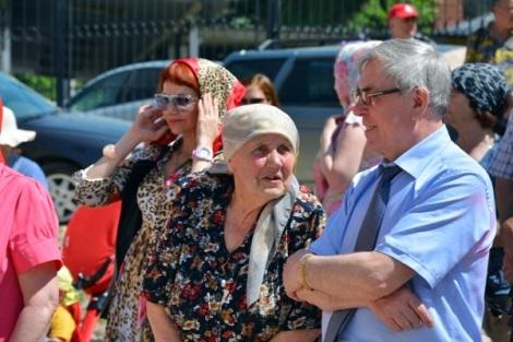 Юрий Егоров с народом