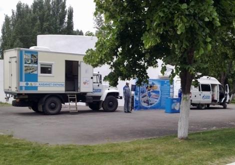 уголок Газпрома