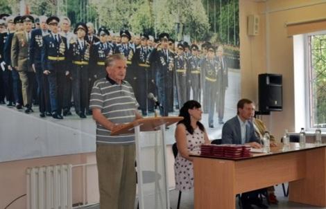 председатель Совета ветеранов войны, труда, Вооруженных сил и правоохранительных органов Советского района Александр Ряднов