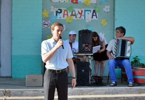 Александр Живайкин пообщался с народом с Мясокомбината