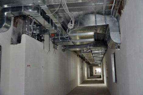 здание нашпиговано современной аппаратурой