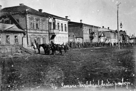 Самара Урал вскоре после боя 9 июня 1918