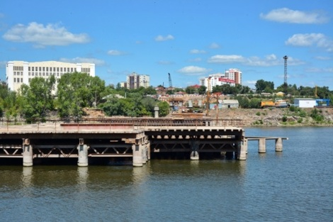 технологический мост с левой стороны