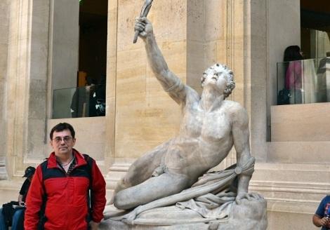 вот это скульптура того самого Данко, которого мы знаем по Горькому