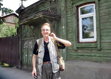 в этом году с профессором Знаменским встретились на его родной Арцыбушевской