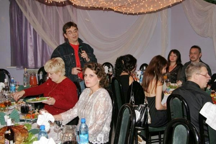 встреча 2007 года в журналистском коллективе, для меня это было первое десятилетие трезвости
