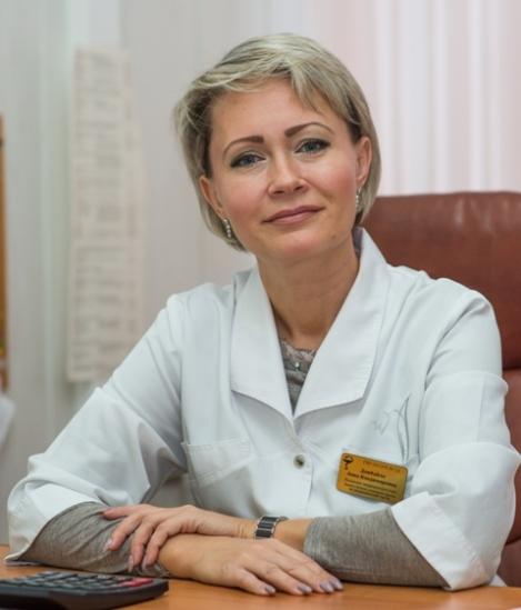 Заместитель главного врача по медицинской части СГП №13 Анна Дзюбайло